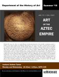 art aztec empire - Department of the History of Art
