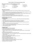 STUDY GUIDE- CH. 15 THE MARITIME REVOLUTION