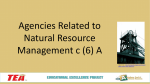 Lesson 06a Agencies in Natural Resource Management PPT