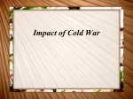 Impact of Cold War