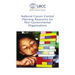 National Cancer Control Planning Resources for Non