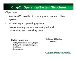 Ch2 OS Structures 1