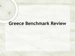Greece Benchmark Review Greece`s Geography