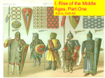 Middle ages part I - Thomas County Schools