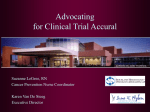 Navigating the Clinical Trials Pathway