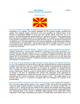 MACEDONIA 108502 Monthly Economic Developments March 29
