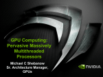 GPU Computing - NVIDIA Research