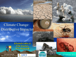Climate Change - Distributive Impacts
