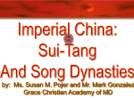 Sui-Tang-Song Imperial China