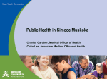 Public Health - Simcoe Muskoka District Health Unit