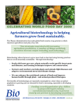 Agricultural Biotechnology is Helping Farmers Grow Food Sustainably