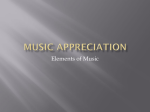 Music Appreciation - Forest Hills High School