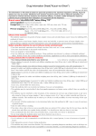 "Drug Information Sheet(""Kusuri-no-Shiori"") Internal Revised: 05"