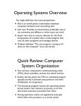 Operating Systems Overview.key