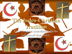 The Judeo-Christian Tradition