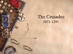 The Crusades 1071-1291