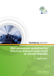 Risk assessment guidelines for infectious diseases