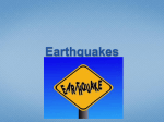 Earthquake Definitions - Red Hook Central Schools