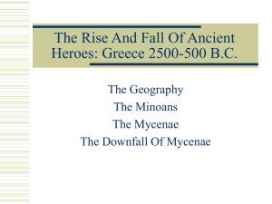 The Rise And Fall Of Ancient Heroes: Greece 2500