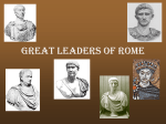 Great Leaders of Rome
