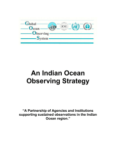 An Indian Ocean Observing Strategy