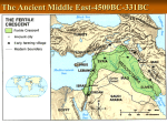 The Ancient Middle East - Octorara Area School District