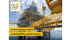 A new energy culture sustainability and territories