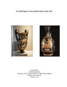 Two Red Figure Vases and the Stories They Tell