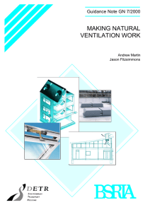 Making natural ventilation work