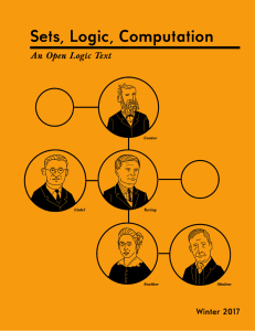 Sets, Logic, Computation