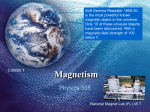 Magnetism - Illinois State University