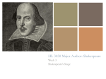 HL 3030 Major Author: Shakespeare