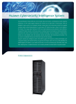 Huawei Cybersecurity Intelligence System
