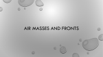 Air Masses and Fronts - Boone County Schools