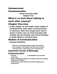 communicating supportively essay Assignment: individual reflection: the individual's role as an effective collaborator (part 1): the team charter collaboration and teamwork is an inescapable aspect of work life you depend on co-workers and colleagues to meet their deadlines, contribute their fair share to projects, and to behave ethically and supportively.