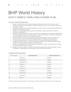 BHP World History - Big History Project