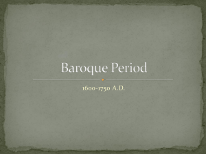 Baroque Period