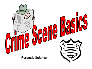 Crime scene notes - Liberty Union High School District