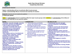Unpacking Outcomes - NESD Curriculum Corner
