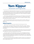 Yom Kippur - Chosen People Ministries