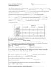 Atoms and Isotopes Worksheet
