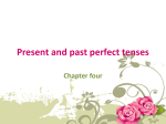 Present and past perfect tenses - Latifah-eng