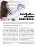 Dental Problems and Immune Deficient Patients