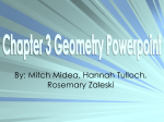 Chapter 3 Geometry PowerPoint