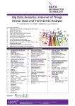 Big Data Analytics: Internet of Things Sensor Data and Time Series