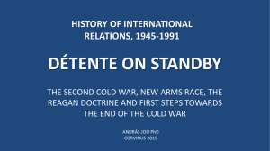 history of international relations, 1945-1991