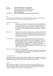 One Page Summary - Word 20 KB - Medical Services Advisory