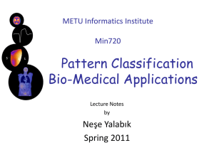METU Informatics Institute Min720 Pattern