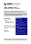 IR1034 World history since 1945 - University of London International