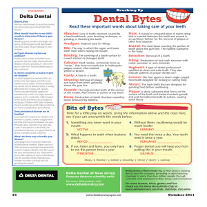 Bits of Bytes - Delta Dental of New Jersey